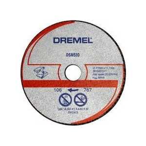 Фотография товара отрезной круг Dremel 20мм для металла и пластмассы для DSM20 (DSM510) (2615S510JA) (439116)