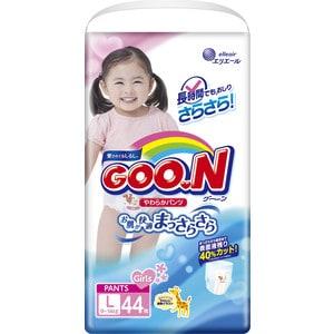 Трусики - подгузники Goon 9-14 кг для девочек (44шт) L (4902011751390) 753713