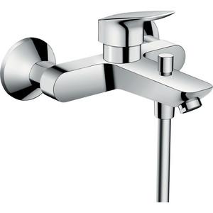 Смеситель для ванны Hansgrohe Logis 70 мм (71400000) держатель туалетной бумаги hansgrohe logis 40526000