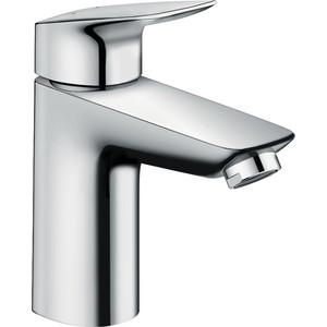 Смеситель для раковины Hansgrohe Logis 100 мм (71100000) держатель туалетной бумаги hansgrohe logis 40526000