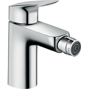 Смеситель для биде Hansgrohe Logis 100 мм (71200000) держатель туалетной бумаги hansgrohe logis 40526000