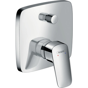 цены Смеситель для ванны Hansgrohe Logis внешняя часть для 01800180 (71405000)