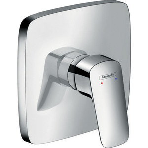 Смеситель для душа Hansgrohe Logis внешняя часть для 01800180 (71605000) держатель туалетной бумаги hansgrohe logis 40526000