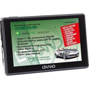 GPS навигатор Lexand SA5 HD+ lexand a1 basic black
