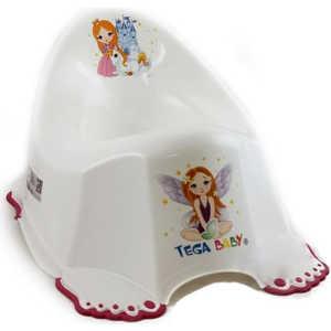 Горшок Tega Маленькая принцесса антискользящий музыкальный PO-049