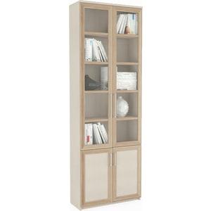 Шкаф книжный ВасКо Соло 037-3305 надстройка васко соло 013 3303 к столу соло 021