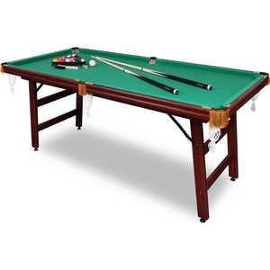 Бильярдный стол Fortuna Пул 6фт 9в1 с комплектом аксессуаров бильярдный стол fortuna пул 5фт 9 в 1 с комплектом аксессуаров