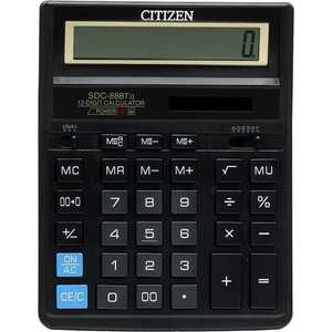 Калькулятор Citizen SDC-888TII калькулятор citizen sdc 888xwh