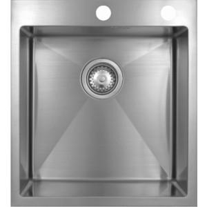 Мойка кухонная Seaman Eco Marino SMB-4550S вентиль-автомат (SMB-4550S.B) мойка кухонная seaman eco marino smb 7851ls вентиль автомат smb 7851ls b