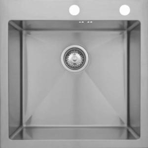 Мойка кухонная Seaman Eco Marino SMB-5151S вентиль-автомат (SMB-5151S.B) мойка кухонная seaman eco marino smb 7851ls вентиль автомат smb 7851ls b