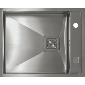 Мойка кухонная Seaman Eco Marino SMB-610XSQ вентиль-автомат (SMB-610XSQ.B) мойка кухонная seaman eco marino smb 7851ls вентиль автомат smb 7851ls b