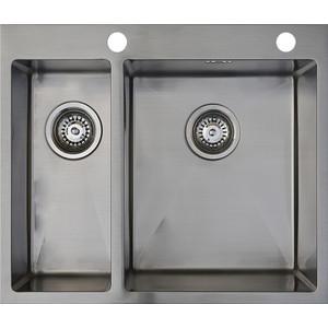 Мойка кухонная Seaman Eco Marino SMB-6151DLS вентиль-автомат (SMB-6151DLS.B) мойка кухонная seaman eco marino smb 7851ls вентиль автомат smb 7851ls b