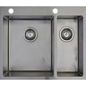 Мойка кухонная Seaman Eco Marino SMB-6151DRS вентиль-автомат (SMB-6151DRS.B) мойка кухонная seaman eco marino smb 7851ls вентиль автомат smb 7851ls b