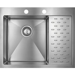 Мойка кухонная Seaman Eco Marino SMB-6351PRS вентиль-автомат (SMB-6351PRS.B) мойка кухонная seaman eco marino smb 7851ls вентиль автомат smb 7851ls b