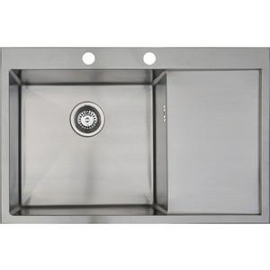 Мойка кухонная Seaman Eco Marino SMB-7851LS вентиль-автомат (SMB-7851LS.B) мойка кухонная seaman eco marino smb 7851ls вентиль автомат smb 7851ls b