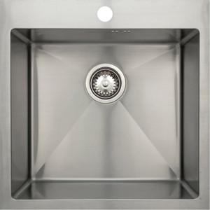 Мойка кухонная Seaman Eco Marino SMV-510 вентиль-автомат (SMV-510.B) мойка кухонная seaman eco glass smg 730b gold pvd вентиль автомат smg 730b gold b