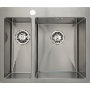 Мойка кухонная Seaman Eco Marino SMV-575L (SMV-575L.A) weissgauff quadro 575 eco granit серый беж