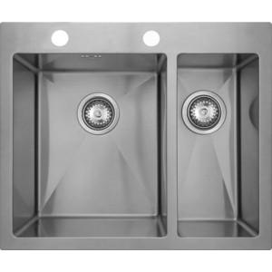 Мойка кухонная Seaman Eco Marino SMV-575R вентиль-автомат (SMV-575R.B) цена