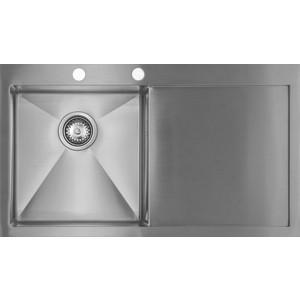 Мойка кухонная Seaman Eco Marino SMV-860R вентиль-автомат (SMV-860R.B) мойка кухонная seaman natural smc 460e supreme smc 460e supreme a