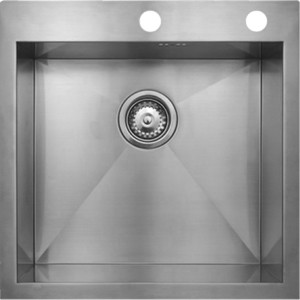 Фото - Мойка кухонная Seaman Eco Marino SMV-Z-510 вентиль-автомат (SMV-Z-510.B) [супермаркет] jingdong геб scybe фил приблизительно круглая чашка установлена в вертикальном положении стеклянной чашки 290мла 6 z