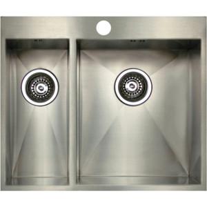 Мойка кухонная Seaman Eco Marino SMV-Z-575L (SMV-Z-575L.A) weissgauff quadro 575 eco granit серый беж