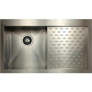 Фото - Мойка кухонная Seaman Eco Marino SMV-Z-860PR (SMV-Z-860PR.A) [супермаркет] jingdong геб scybe фил приблизительно круглая чашка установлена в вертикальном положении стеклянной чашки 290мла 6 z