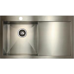 Фото - Мойка кухонная Seaman Eco Marino SMV-Z-860R (SMV-Z-860R.A) [супермаркет] jingdong геб scybe фил приблизительно круглая чашка установлена в вертикальном положении стеклянной чашки 290мла 6 z