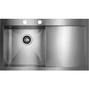 Мойка кухонная Seaman Eco Marino SMV-Z-860R вентиль-автомат (SMV-Z-860R.B) цена