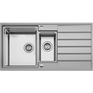 все цены на Мойка кухонная Seaman Eco Roma SMR-9750B вентиль-автомат (SMR-9750B.B)