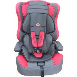 Автокресло BamBola 9-36кг красный/черный Red +Black grid MXZ-EA