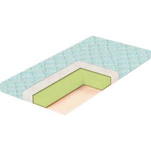 Матрас в кроватку BamBola Eco Eucalipto 8 119*59*8 Стеганая бязь EE-8 cloris 8 1142a