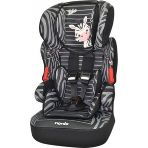 Автокресло Nania Biline SP 9-36кг Animals Zebre Black черный 295175