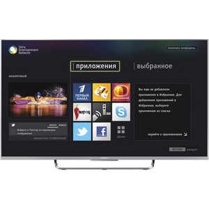 3D и Smart телевизор Sony KDL-55W807C