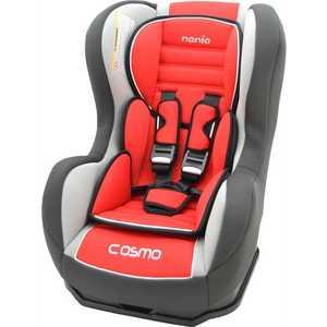 Автокресло Nania Cosmo SP 0-18кг Agora Carmin luxe темно-серый/красный/светло-серый 88129