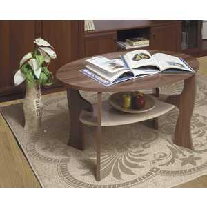 Стол журнальный ОЛМЕКО без стекла Маджеста-4 ясень шимо темный/светлый стол обеденный rinner прямая ясень шимо светлый
