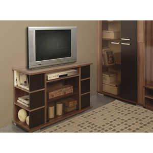 Тумба для радиоаппаратуры ОЛМЕКО Виста-15 ясень шимо темный/венге шкаф для офиса bonawentura 20шбз 26 венге темный