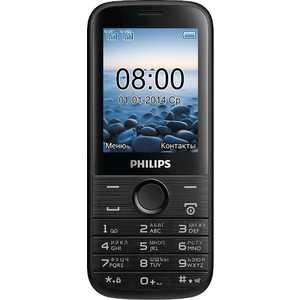 Мобильный телефон Philips E160 Black philips e160