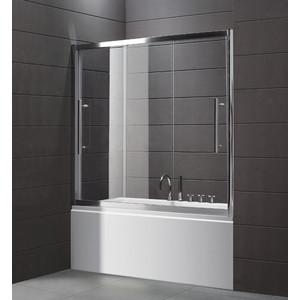 Шторка на ванну Cezares TRIO-V-22-150/145-P-Cr
