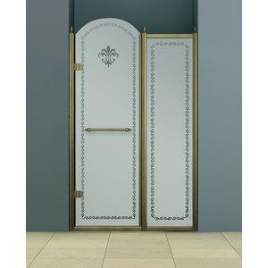 Душевая дверь Cezares RETRO-B-11-120-CP-Br-L