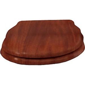 Сиденье для унитаза Cezares Royal Palace деревянное орех микролифт фурнитура хром (CZR-T-012W-S-Cr) фурнитура для унитаза swell