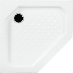Душевой поддон Cezares 100x100x15 см акриловый пятиугольный (TRAY-A-P-100-15-W ) 100