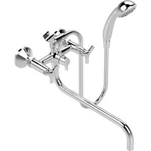 Смеситель для ванны Vidima Тринити поворотный излив 320мм с аксессуарами (BA262AA) vidima тринити ba260aa