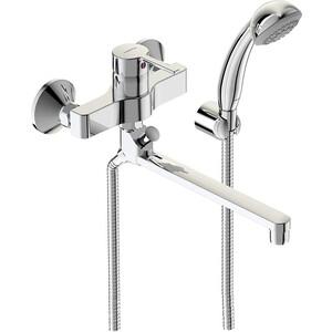 Смеситель для ванны Vidima Логик поворотный излив 250ммс аксессуарами (BA280AA)