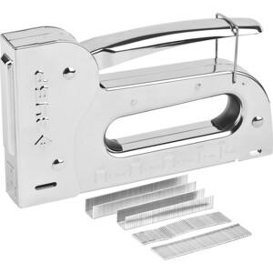 Степлер ручной Зубр 5в1 6-16мм Профи (31527) степлер профи fit 32165