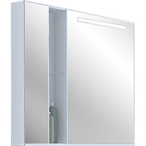 Зеркальный шкаф Акватон Марко 80 (1A181102MO010) зеркальный шкаф акватон мадрид 80 1a175202ma010