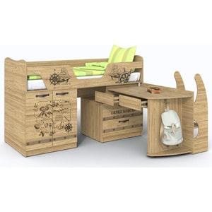 Кровать-чердак СКАНД-МЕБЕЛЬ Корсар 2 кровать сканд мебель кембридж 2