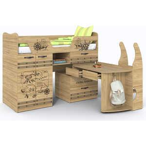 Кровать-чердак СКАНД-МЕБЕЛЬ Корсар 1 кровать сканд мебель кембридж 2