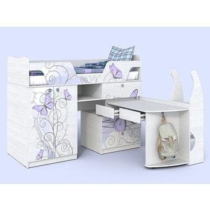 Кровать-чердак СКАНД-МЕБЕЛЬ Леди 1 кровать сканд мебель кембридж 2