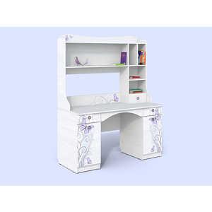 СКАНД-МЕБЕЛЬ Стол с надстройкой Леди мебель салона маникюрный стол роза 42 цвета