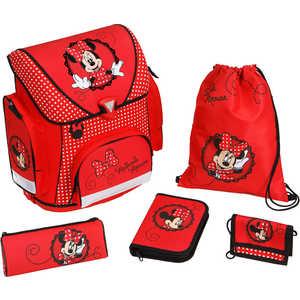 Набор школьный для девочки из 5 предметов Scooli Minnie Mouse (MI13825)*